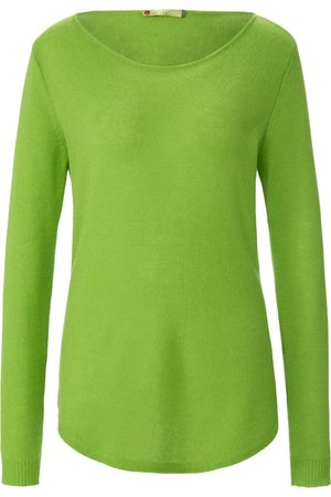 FLUFFY EARS Women Jumpers - Round neck jumper in Pure cashmere in premium qual size: 10