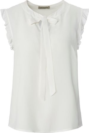 Uta Raasch Blouse short cap sleeves and bow size: 10