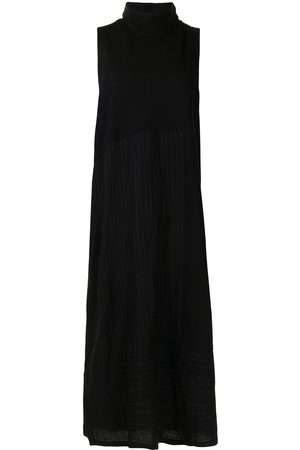 Y'S Sleeveless roll neck dress