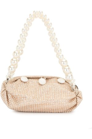 0711 Sparkly gold small nino tote