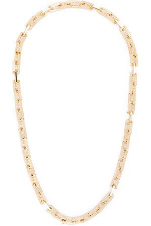 AMBUSH A chain link necklace