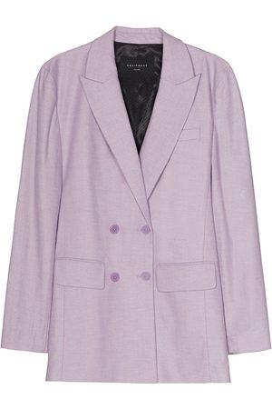 Equipment Women Blazers - Peak-lapel double-breasted blazer