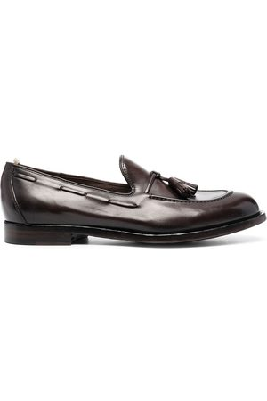 Officine creative Slip-on leather loafers