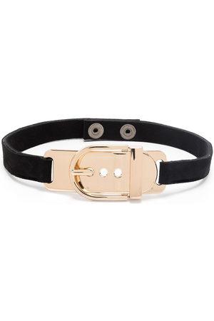 Manokhi Buckle chocker necklace