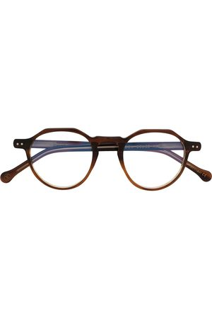 Lesca Sunglasses - Icon 22 round frame glasses