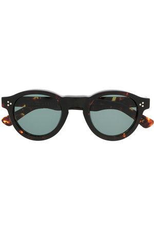 LESCA Gaston round frame sunglasses
