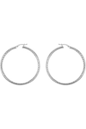 The Love Silver Collection Sterling 35Mm Twist Hoop Earrings