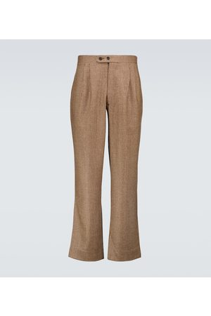BODE Houndstooth wool pants