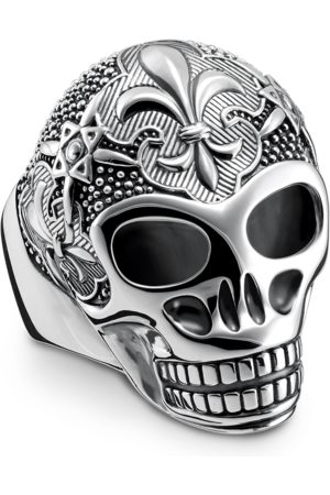 Thomas Sabo Rings - Ring lily skull -coloured TR2155-637-21-48