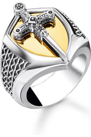 Thomas Sabo Men Rings - Ring sword gold multicoloured TR2309-849-7-48