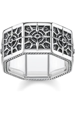 Thomas Sabo Ring Compass, angular, TR2275-643-11-48