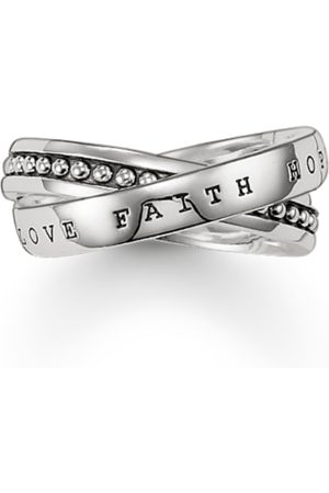 Thomas Sabo Multiple ring faith, love, hope TR1930-001-12-48
