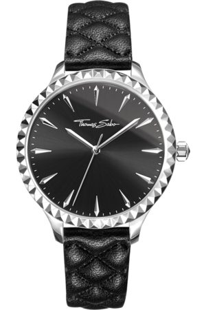 Thomas Sabo Women's watch Rebel at heart Women black WA0321-203-203-38 MM