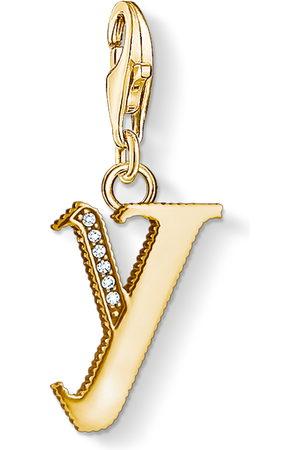 Thomas Sabo Necklaces - Charm pendant letter Y coloured 1631-414-39