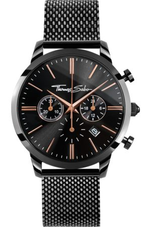 Thomas Sabo Men's watch REBEL SPIRIT CHRONO WA0247-202-203-42 MM