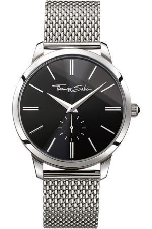 Thomas Sabo Men's Watch REBEL SPIRIT black WA0152-201-203-42 MM