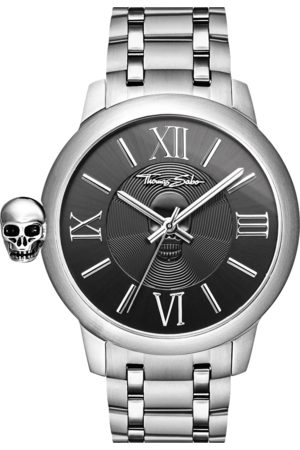 Thomas Sabo Men's watch REBEL WITH KARMA black WA0304-201-203-46 MM
