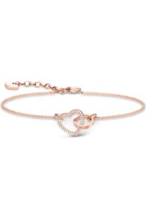 Thomas Sabo Bracelets - Bracelet heart together forever white A1730-416-14-L19V