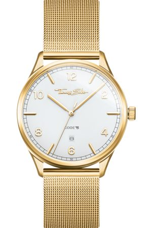 Thomas Sabo Watches - Watch unisex CODE TS yellowgold white WA0340-264-202-40 MM