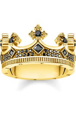 Thomas Sabo Rings - Ring Crown gold TR2208-414-11-48