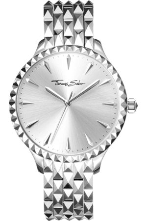 Thomas Sabo Women's watch Rebel at heart Women silver-coloured WA0318-201-201-38 MM
