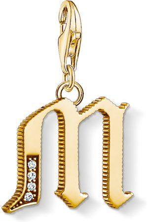 Thomas Sabo Necklaces - Charm pendant letter M coloured 1619-414-39