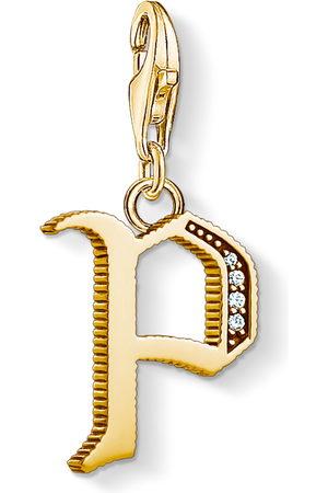 Thomas Sabo Necklaces - Charm pendant letter P coloured 1622-414-39