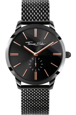 Thomas Sabo Women's watch GLAM SPIRIT black WA0277-202-203-33 MM