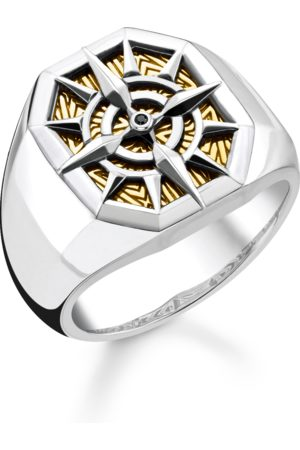 Thomas Sabo Ring compass gold multicoloured TR2278-849-7-48