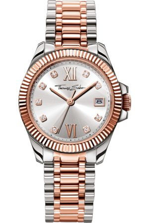 Thomas Sabo Women's Watch DIVINE -coloured WA0219-272-201-33 MM