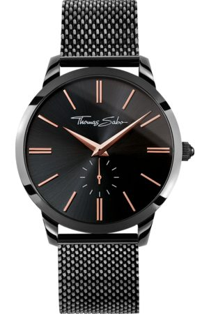 Thomas Sabo Men's watch REBEL SPIRIT black WA0271-202-203-42 MM