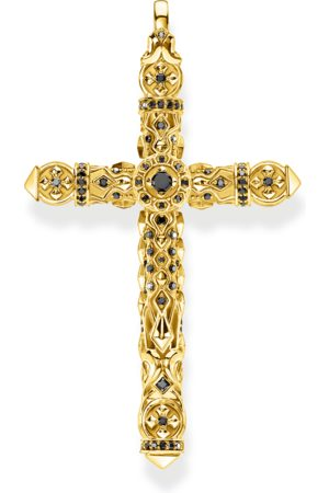 Thomas Sabo Pendant cross stones gold PE903-414-11