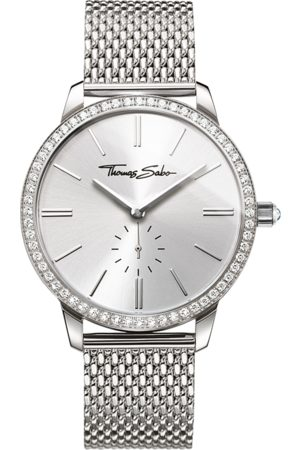 Thomas Sabo Women's watch Glam Spirit silver-coloured WA0316-201-201-33 MM
