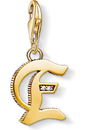 Thomas Sabo Charm pendant letter E coloured 1611-414-39