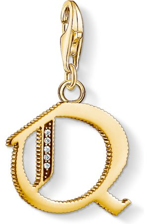 Thomas Sabo Charm pendant letter Q coloured 1623-414-39