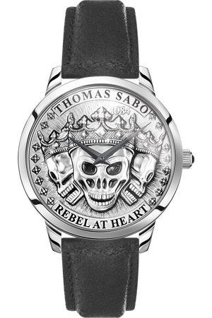 Thomas Sabo Men's watch Rebel Spirit 3D skulls, -coloured WA0355-203-201-42 MM