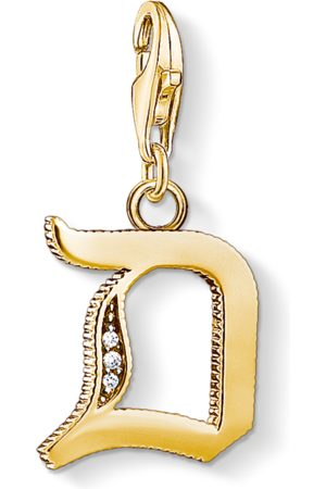 Thomas Sabo Charm pendant letter D coloured 1610-414-39