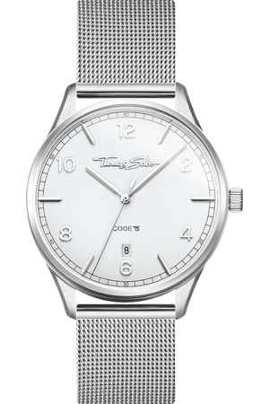 Thomas Sabo Women's watch Code TS small silver WA0360-201-202-36 MM