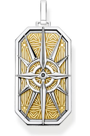 Thomas Sabo Pendant compass star gold multicoloured PE868-849-7