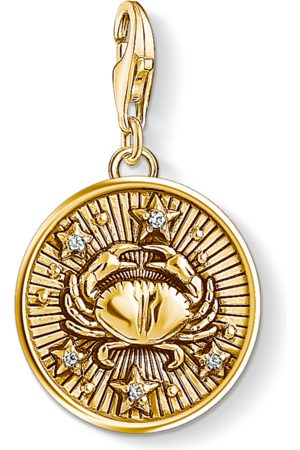 Thomas Sabo Charm pendant zodiac sign Cancer coloured 1655-414-39