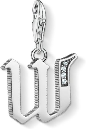 Thomas Sabo Charm pendant letter W -coloured 1603-643-21