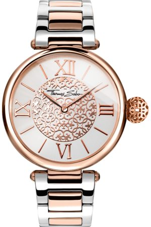 Thomas Sabo Women's watch KARMA silver-coloured WA0257-277-201-38 MM