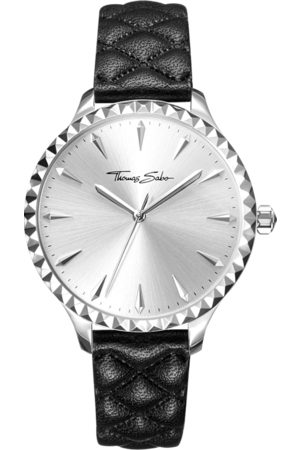 Thomas Sabo Women's watch Rebel at heart Women silver-coloured WA0320-203-201-38 MM