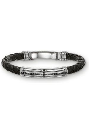 Thomas Sabo Leather bracelet cross LB41-019-11-M