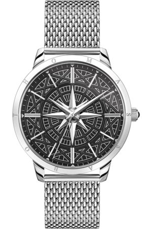 Thomas Sabo Men's watch Rebel Spirit compass WA0349-201-203-42 MM