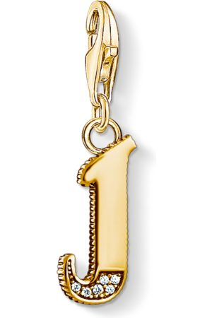 Thomas Sabo Charm pendant letter J coloured 1616-414-39