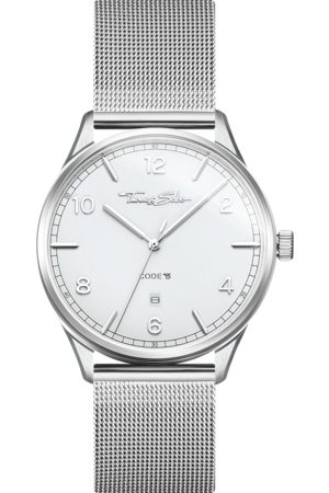 Thomas Sabo Watch unisex CODE TS silver WA0338-201-202-40 MM