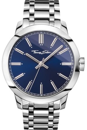 Thomas Sabo Men's watch Rebel at heart Men blue WA0310-201-209-46 MM