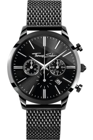Thomas Sabo Men's watch REBEL SPIRIT CHRONO black WA0291-287-203-42 MM
