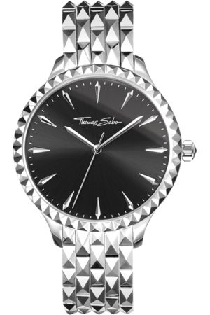 Thomas Sabo Women's watch Rebel at heart Women black WA0319-201-203-38 MM